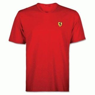 Ferrari Scudetto V Neck T Shirt Black X Large Sports