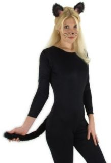 Elope Cat Ears/Tail (Black) Clothing