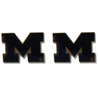 Michigan Wolverines Post Stud Earrings