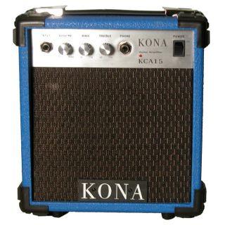 Kona 10 watt Blue Electric Guitar Amplifier