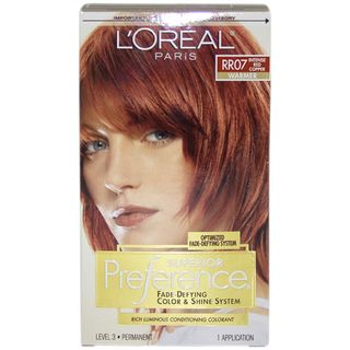 Oreal Superior Preference Fade Defying Intense Red Copper #RR07