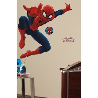 Roommates Ultimate Spider Man Peel and Stick Giant Wall Decal