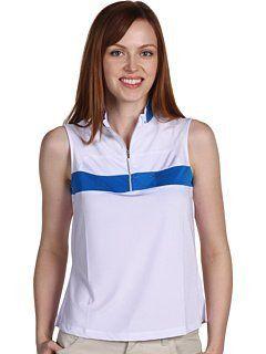 New Jamie Sadock Womens Sleeveless Golf Polo Shirt Color