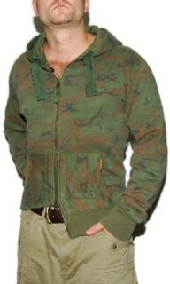 Polo Ralph Lauren Mens Camo Hoodie Jacket Sweatshirt XL