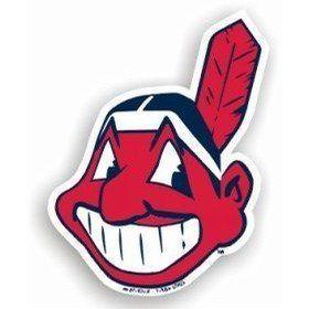 Cleveland Indians Logo MLB Car Magnet