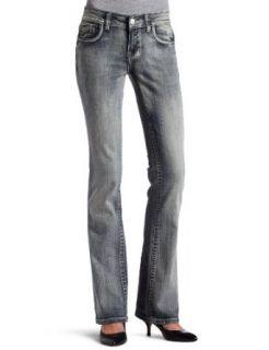 Vigoss Juniors NY Flap 34 Inch Boot Jean, Medium Tint, 13