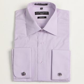 Jean Paul Germain Mens Lavender French Cuff Dress Shirt