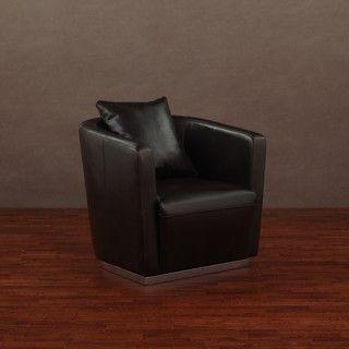 Tovano Dark Brown Swivel Chair