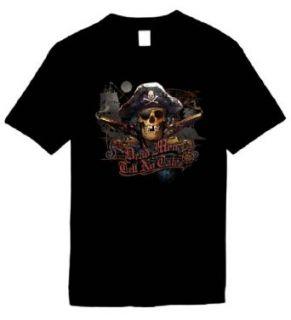 Kids Funny T Shirts Size XL (Pirates Skull No Tale Shirt