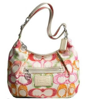Scribble Dreamy Large Shoulder Hobo Bag Purse Tote 16700 Multi Shoes