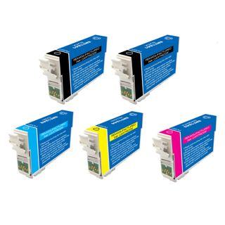 Epson T126 Remanufactured Black / Colors Ink Cartridges (Pack of 5