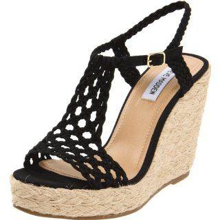 Steve Madden Womens Magestee Wedge Sandal Steve Madden Shoes