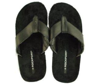 Rockport Mens Split Toe Sandals Black 9 Shoes