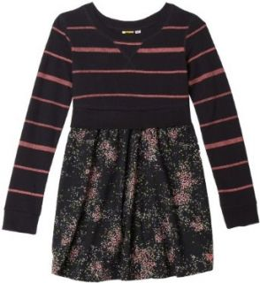 Roxy Girls 7 16 Alter Ego Long Sleeved Knit Dress,New