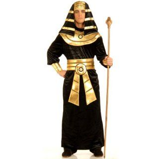 Metallic Pharaoh Egyptian King Tut Costume Headdress: Toys