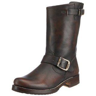 FRYE Womens Rogan Engineer Studded Boot Shoes