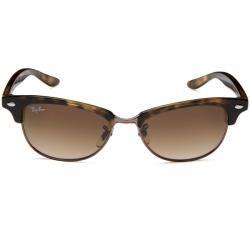 Ray Ban Unisex Clubmaster Havana Plastic Sunglasses