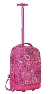 Rockland Luggage 19 Inch Rolling Backpack Printed, Bandana