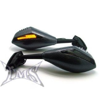 UNIVERSAL CARBON FIBER MOTORCYCLE STREET BIKE LED TURN