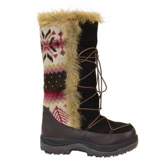 Muk Luks Sesu Antique Faux fur Tall Boots