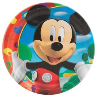 Mickeys Clubhouse Dinner Plates (8 count) Clothing