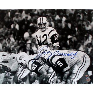 Joe Namath Super Bowl III Over Center 16x20 Sports