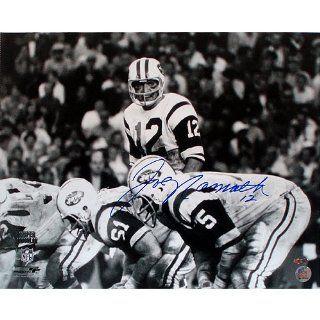 Joe Namath Super Bowl III Over Center 16x20 Sports