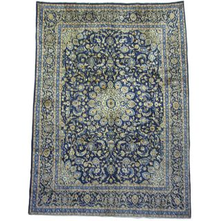 Persian Mashad Hand knotted Wool Rug (8 x 111)