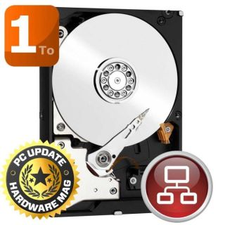 WD Red 1To 64Mo 3.5   Achat / Vente DISQUE DUR INTERNE WD Red 1To