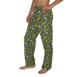 Mens NFL Green Bay Packers Cotton Thermal Sleepwear