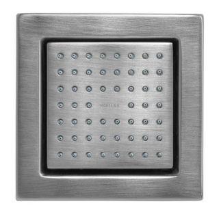 Brushed Chrome Watertile Square 54 Nozzle Bodyspray