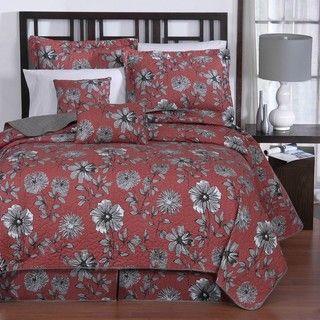 Cassie 6 piece Full size Quilt Set