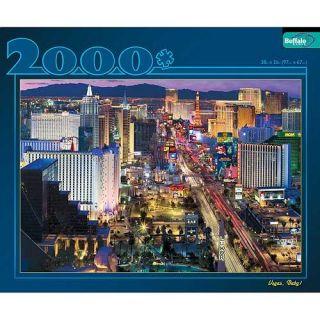 Buffalo Games Las Vegas 2000 piece Jigsaw Puzzle