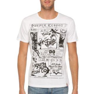 FRESH BRAND T Shirt Homme Blanc Blanc   Achat / Vente T SHIRT FRESH