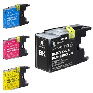 BasAcc Brother Compatible LC79 Extra high yield Ink Cartridges (Pack