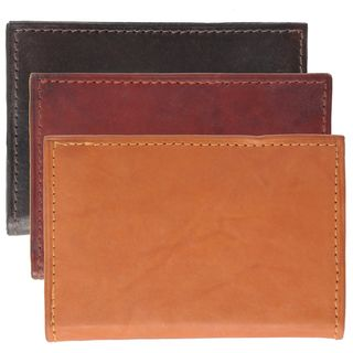 Boston Traveler Bi fold Credit Card Wallet