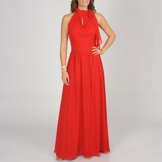 Decode 1.8 Women Silk Neck Tie Evening Gown