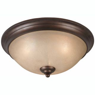 LaCosta 3 light English Bronze Flush Mount Today $117.99