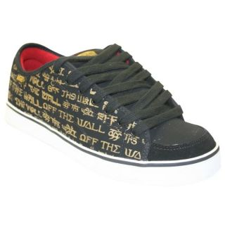 Skateshoes Vans Shoes Dd66 Off The… BLACK PALE GOLD   Achat / Vente