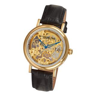 Stuhrling Original Womens Lady Montague Skeleton Mechanical Watch
