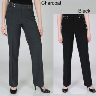Larry Levine Womens Fashion Career Pants