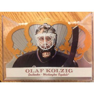 2000 01 Crown Royale #107 Olaf Kolzig Collectibles
