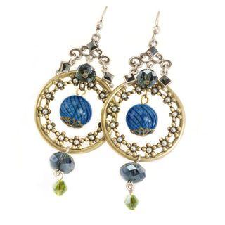 Sweet Romance Glass Bubble Dangle Earrings