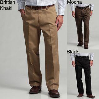 Haggar Mens Maddox Twill Dress Pants