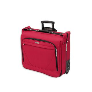 American Trunk & Case Air Lites Red 44 inch Wheeled Garment Bag