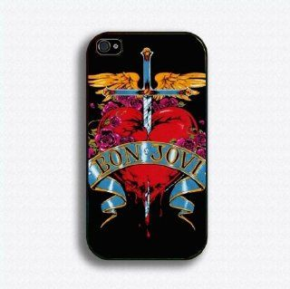 bon jovi 11 iphone case for 4 and 4s plastic black color