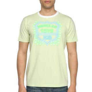 DIESEL T Shirt Klifor Homme Vert pâle   Achat / Vente T SHIRT DIESEL