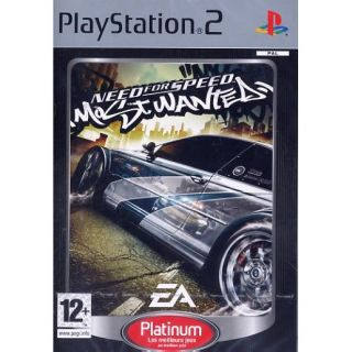 NEED FOR SPEED MOST WANTED / JEU CONSOLE PS2 Plati   Achat / Vente