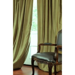 Burnished Cotton Silk Curtain Panel (120 in.)
