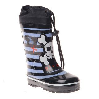 Henry Ferrera Boys Striped and Pirate Printed Rain boot Today $34.99